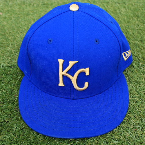 Photo of Game-Used Cap: Humberto Arteaga (Size 7 1/2 - MIN @ KC - 9/27/19)