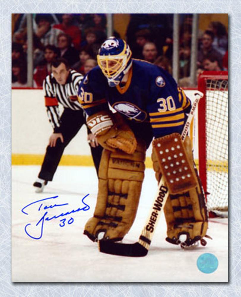 Tom Barrasso Buffalo Sabres Autographed Goal Position 16x20 Photo