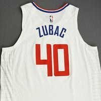 Ivica Zubac - Los Angeles Clippers - Game-Worn Association Edition Jersey - NBA Canada Series - 2019-20 NBA Preseason