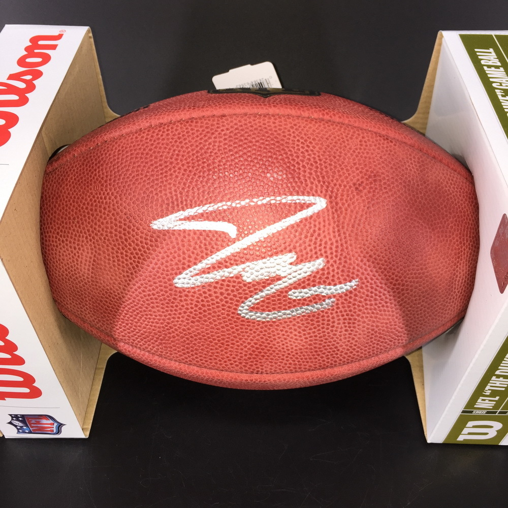 NFL -  Bryce Love Signed Authentic Football