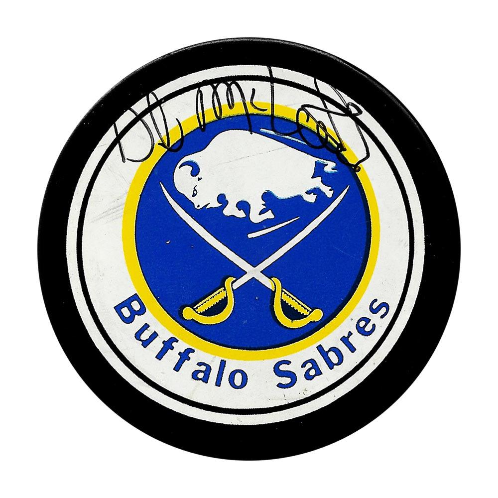 Dale McCourt Autographed Buffalo Sabres Vintage Puck