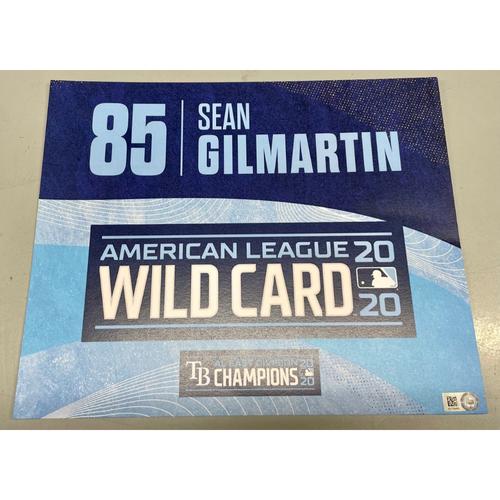 Photo of Team Issued ALWCS Locker Tag: Sean Gilmartin - 2020 Postseason