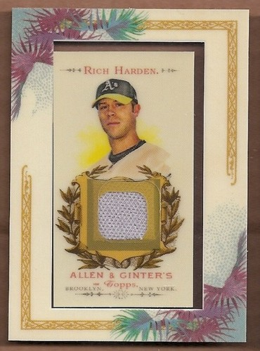 Photo of 2007 Topps Allen and Ginter Relics #RH Rich Harden Pants J