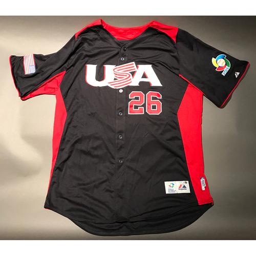 2013 World Baseball Classic Jersey - USA Jersey, David Hernandez #26