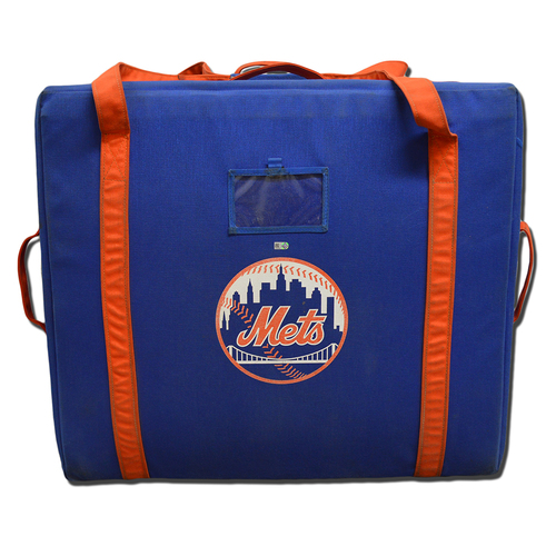 Photo of New York Mets Helmet Bag - 2016 Wild Card Game - Mets vs. Giants - 10/5/16