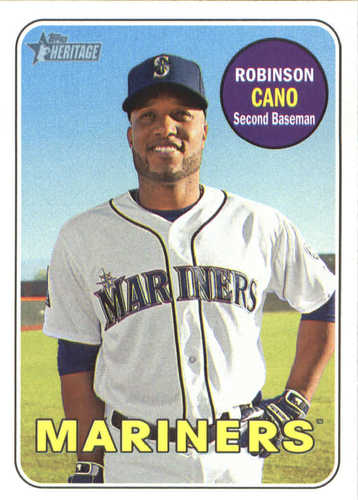 Photo of 2018 Topps Heritage #301 Robinson Cano