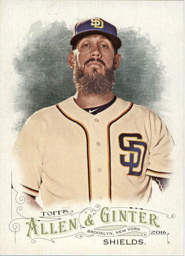 Photo of 2016 Topps Allen and Ginter #73 James Shields