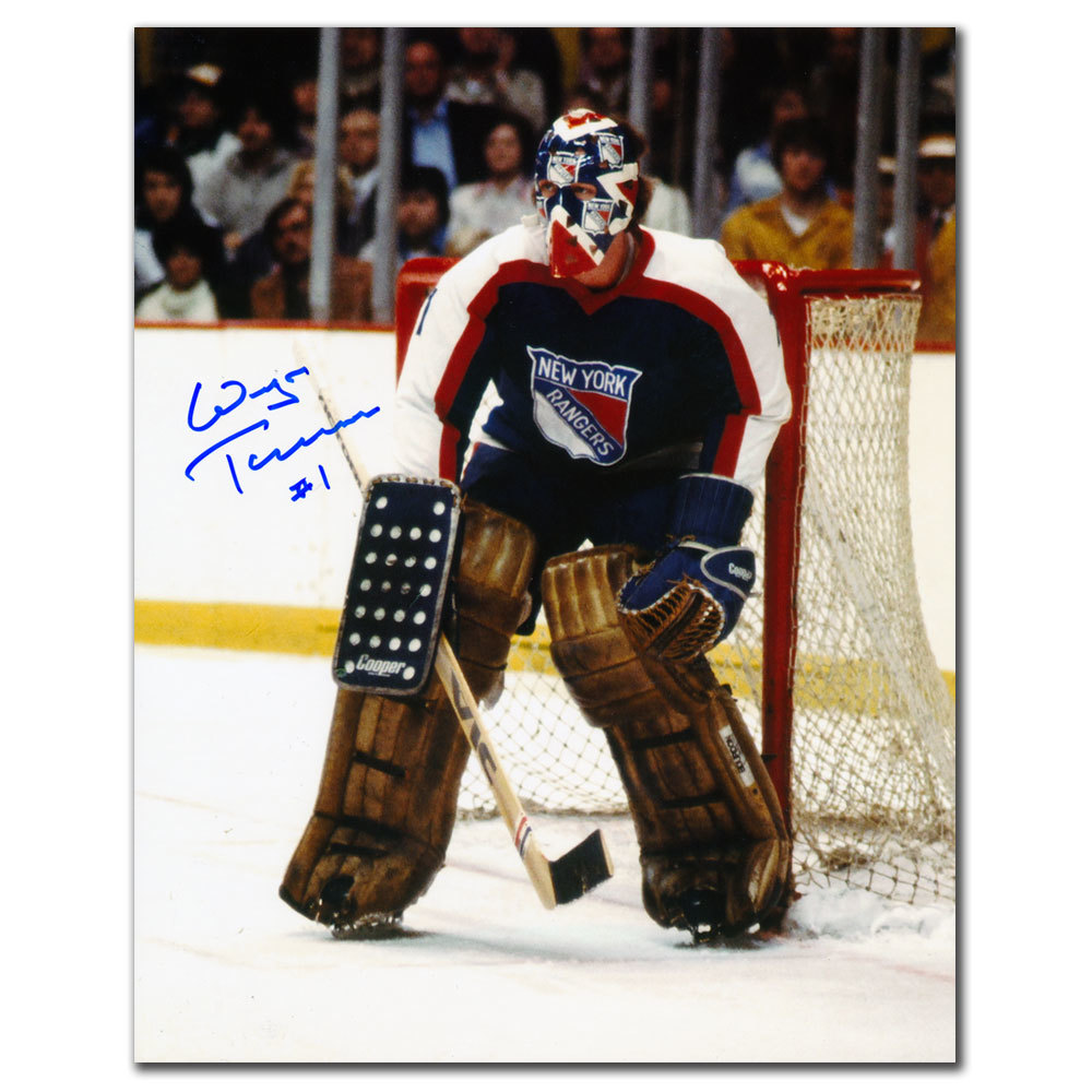 Wayne Thomas New York Rangers Autographed 8x10