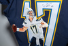 Chargers - Custom painted - Signed Philip Rivers jersey