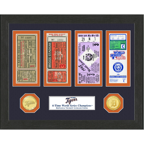 Photo of Detroit Tigers World Series Ticket Collection