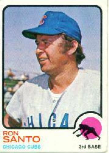 Photo of 1973 Topps #115 Ron Santo