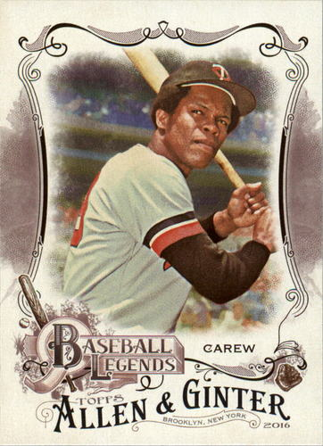 Photo of 2016 Topps Allen and Ginter Baseball Legends #BL22 Rod Carew