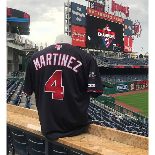 Photo of 2019 NLDS/NLCS Game-Used Jersey: Dave Martinez