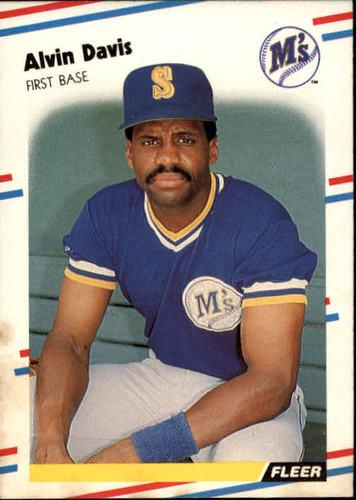 Photo of 1988 Fleer #373 Alvin Davis
