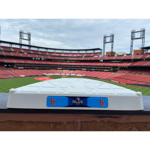 Photo of Cardinals Authentics: Game Used 3rd Base from NLDS Game 3 Innings 4-6