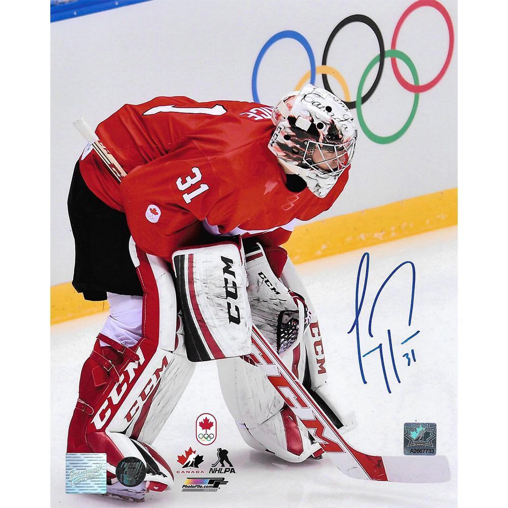 Carey Price Autographed 2014 Olympic Team Canada 8X10 Photo