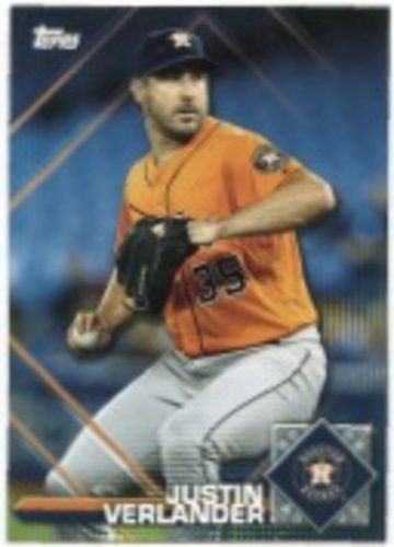 Photo of 2020 Topps Opening Day Sticker Collection Preview #SP1 Justin Verlander