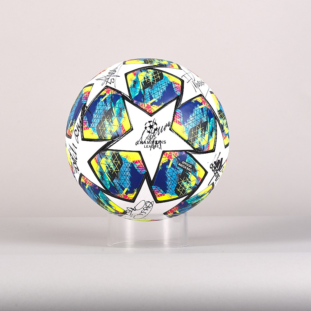 A 19/20 Champions League ball signed by the Galatasaray Team