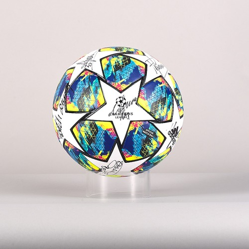 Photo of A 19/20 Champions League ball signed by the Galatasaray Team
