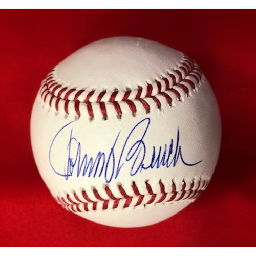 Photo of Johnny Bench Autographed Baseball