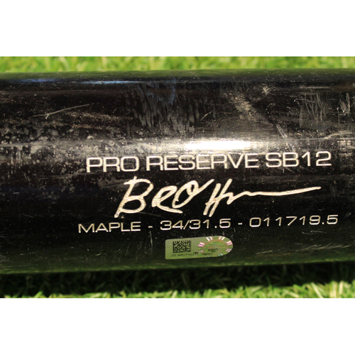Photo of Team-Issued Bat: Ryan O'Hearn #66
