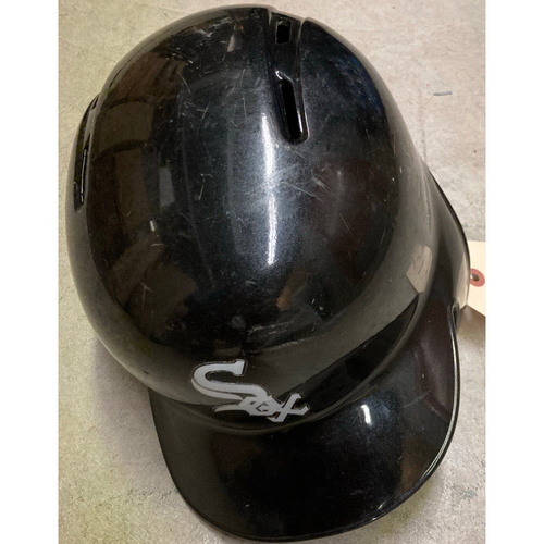 Photo of Black Clubhouse Helmet - #11 - Size 7 1/2 - NOT MLB Authenticated