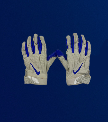 Photo of Aaron Donald Game Used Gloves - (12/10/2020 VS. New England Patriots)