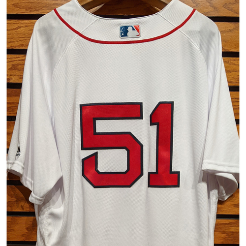 Coach Tim Hyers #51 Team Issued Home White Jersey