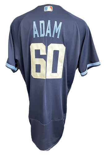 Photo of Jason Adam Game-Used Jersey - City Connect - Cardinals vs. Cubs Game 1 of DH - 9/24/21 - Size 48TC