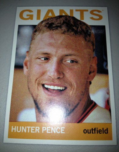 Photo of 2013 Topps Heritage #431 Hunter Pence SP
