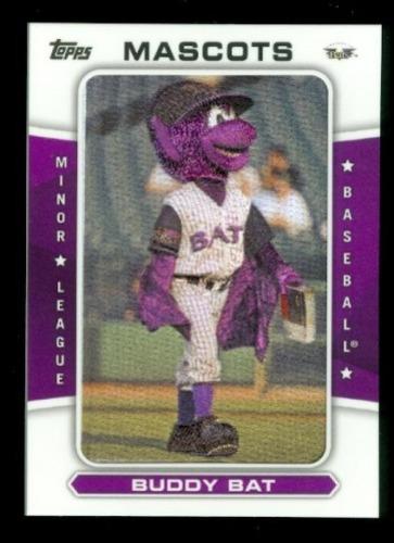 Photo of 2013 Topps Pro Debut Mascots #BB Buddy Bat