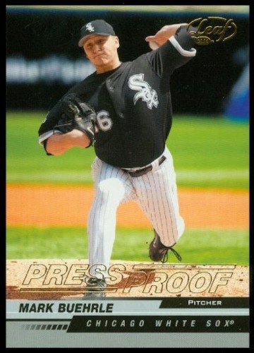 Photo of 2005 Leaf Press Proofs Gold #50 Mark Buehrle