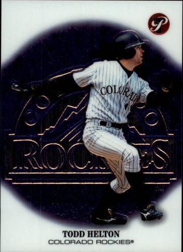 Photo of 2002 Topps Pristine #34 Todd Helton