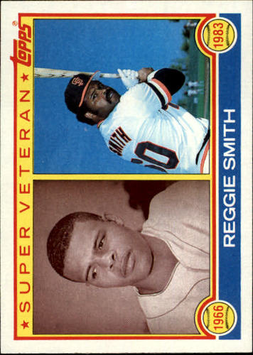 Photo of 1983 Topps #283 Reggie Smith SV
