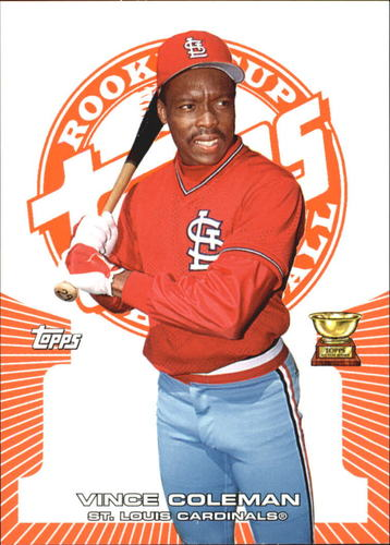Photo of 2005 Topps Rookie Cup Orange #57 Vince Coleman