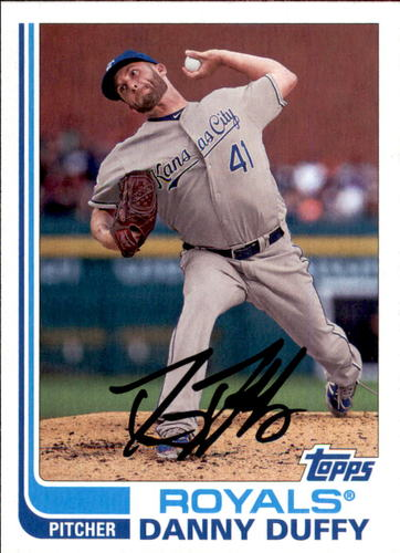 Photo of 2017 Topps Archives #180 Danny Duffy