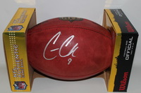 NFL - RAIDERS CONNOR COOK SIGNED AUTHENTIC FOOTBALL