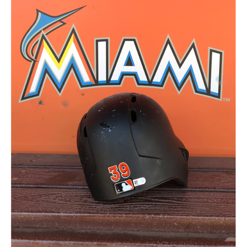 Photo of Game-Used Helmet: J.T. Riddle (Rookie Season)