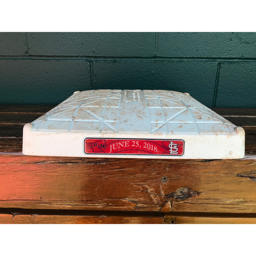 Cardinals Authentics: Game-Used 1st Base from June 25, 2018 *10,000 Win*