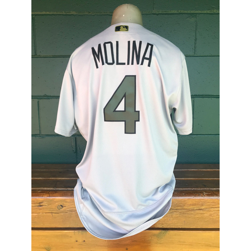 Photo of Cardinals Authentics: Yadier Molina Team Issued Memorial Day Jersey
