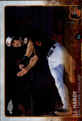 Photo of 2015 Topps Chrome #146 J.J. Hardy