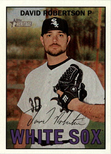 Photo of 2016 Topps Heritage #384 David Robertson