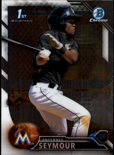 Photo of 2016 Bowman Chrome Prospects #BCP21 Anfernee Seymour