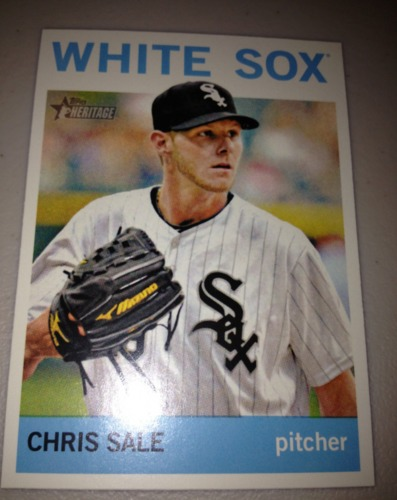 Photo of 2013 Topps Heritage #455A Chris Sale