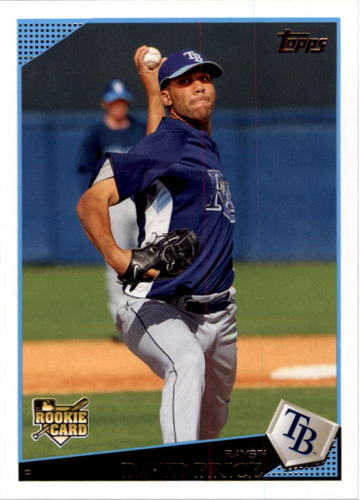 Photo of 2009 Topps #35 David Price Rookie Card
