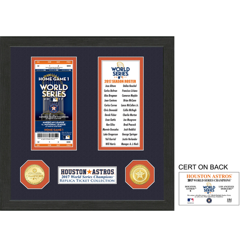 Photo of Houston Astros World Series Ticket Collection