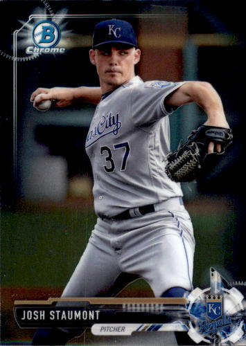 Photo of 2017 Bowman Chrome Prospects #BCP89 Josh Staumont