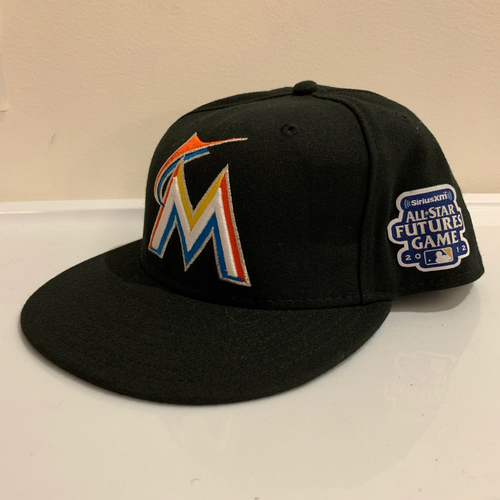 Photo of 2012 All Star Futures Game -  Game Used Cap  - Christian Yelich (Miami Marlins) Size - 7 -1/4