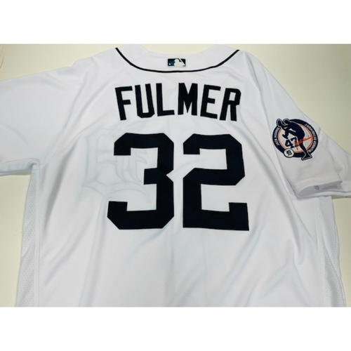 Photo of Team-Issued Jack Morris Number Retirement Day jersey: Michael Fulmer