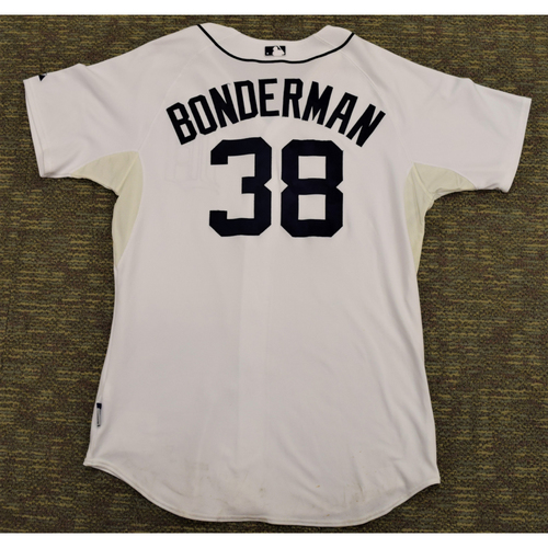 Photo of Jeremy Bonderman Game Worn Detroit Tigers #38 Home Jersey (NOT MLB AUTHENTICATED)
